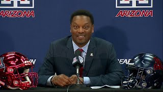 New Arizona football coach Kevin Sumlin eager to hit recruiting trail