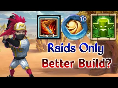 Ronin | New Build | 10 Life Drain In Action | 10 SL |  Better Version Of Ronin..? | Castle Clash