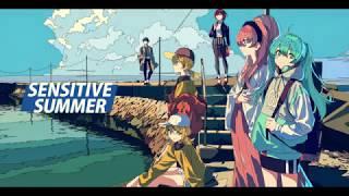 センシティブサマー(SENSITIVE SUMMER) / ZLMS feat.初音ミク (ジグ・ルワン・はるまきごはん・雄之助) thumbnail