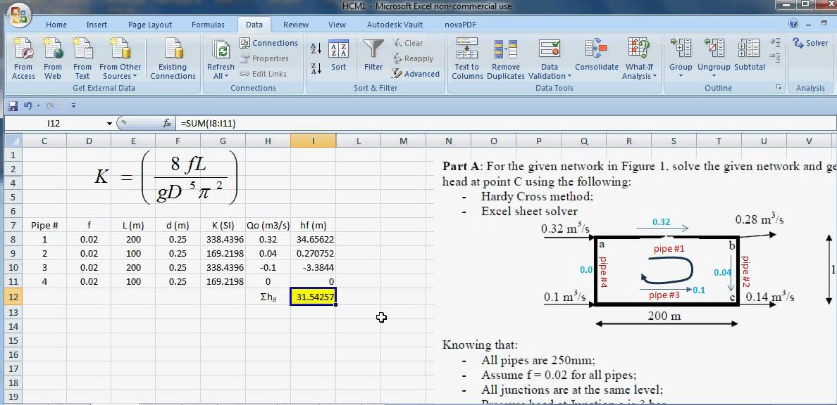 using execel solver Using excel to find perimeter, area & volume v = lwh level: lbs 4 goal: to become familiar with microsoft excel by entering formulas into a spreadsheet in order to calculate the perimeter, area and volume of basic shapes.