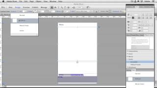 How To Create A Sliding Menu for Your Mobile Website in Adobe Muse