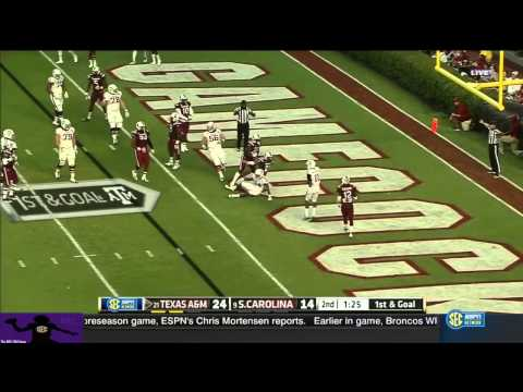 Kenny Hill vs. South Carolina (2014)