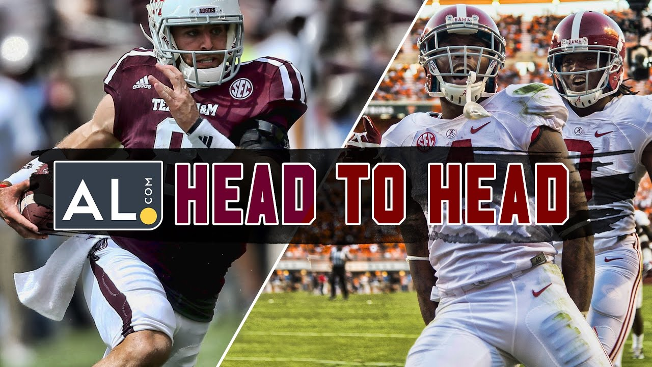 Head To Head Texas A M Vs Alabama 2016 Prediction Youtube