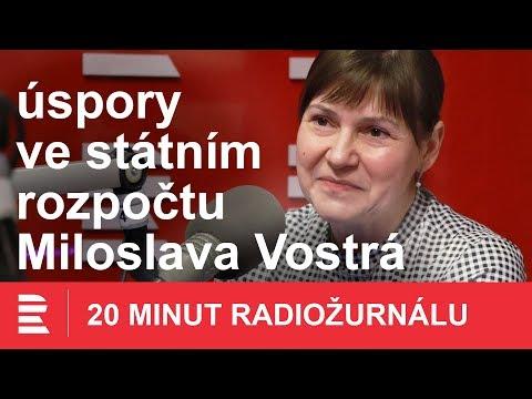 Miloslava Vostrá z KSČM: Inventura na ministerstvech je krok správným směrem