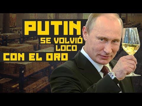 Rusia se despide del dólar: Putin compra oro como loco, desata una fiebre y preocupa a EEUU