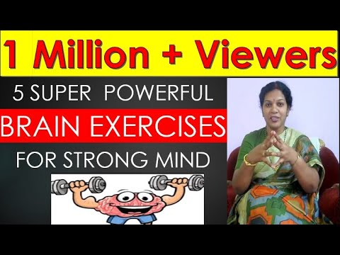 5 SUPER POWERFUL BRAIN EXERCISES FOR STRONG MIND