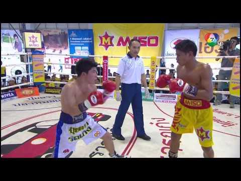 HD เด่นชัย ป.กอบเกื้อ vs ใจเพชร ศิษย์ทรายทอง II Denchai Por Korbkua vs Jaipetch Chaiyonggym II