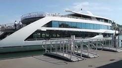 Schifffahrt über den Vierwaldstättersee mit dem Motorschiff MS Diamant
