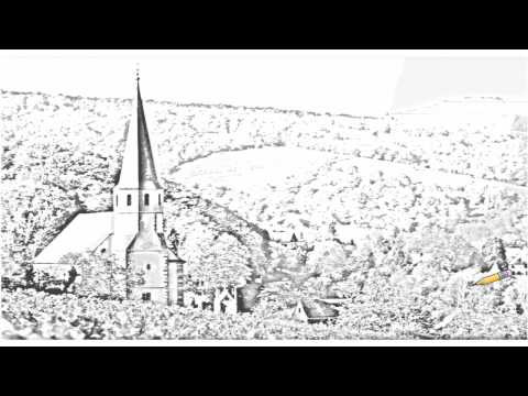 Auto Draw 2: Church Of Andlau, Alsatian Wine Road, Alsace, France - click image for video