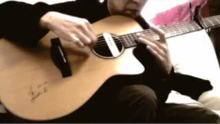 "Princess Princess ""M"" (finger style guitar) Open G Tuning."