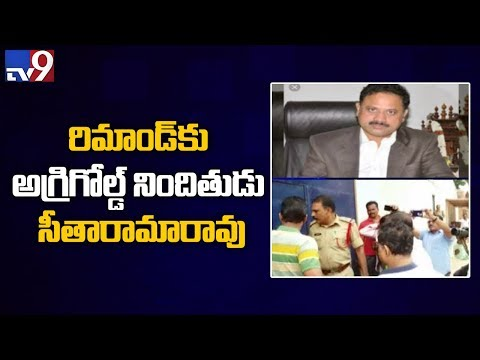 Agri Gold case - Director Sitarama Rao remanded to custody -  TV9