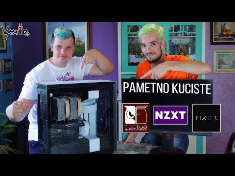 Saki i ja sklapamo PC NZXT H700i Pametno kuciste