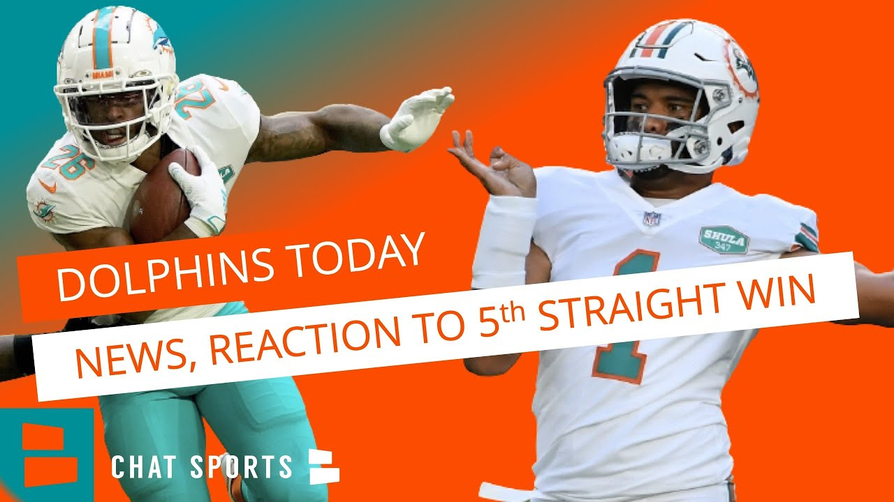 Miami Dolphins News & Rumors After 29-21 WIN vs. Chargers | Tua, Salvon Ahmed & Playoff Picture