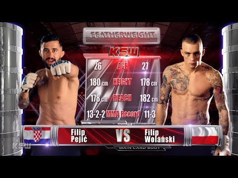 KSW Free Fight: Filip Pejic vs. Filip Wolanski from KSW 48 (exciting finish)