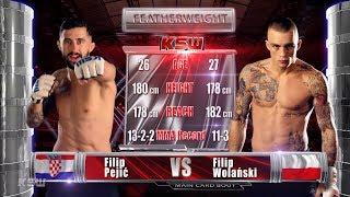 KSW Free Fight: Filip Pejić vs Filip Wolański | KSW 51