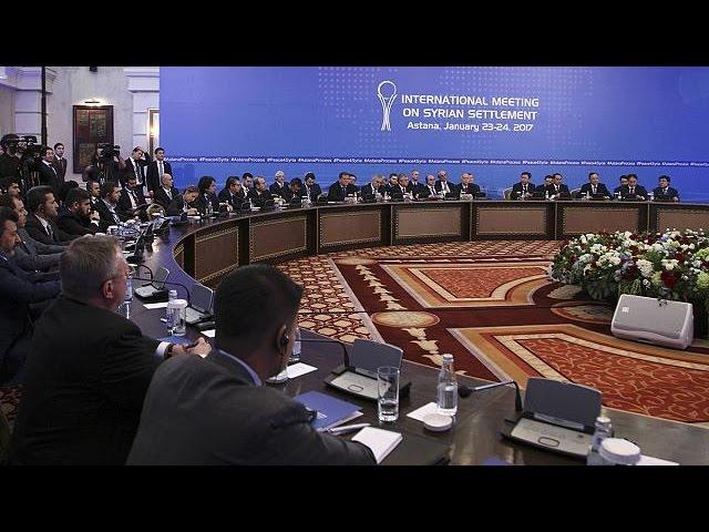 Астана: пусть и недолго, но за одним столом
