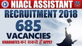 Breaking News | NIACL Assistant Recruitment 2018 | Notification Released