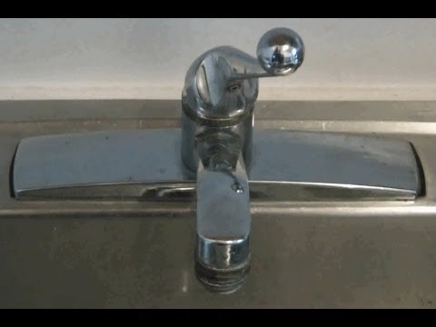 How To Fix A Leaking Kitchen Sink Faucet Quick And Easy