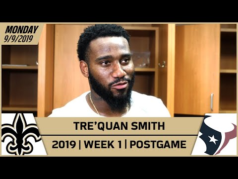 Tre'Quan Smith on the Play that Set Up Wil Lutz' Game Winner | New Orleans Saints