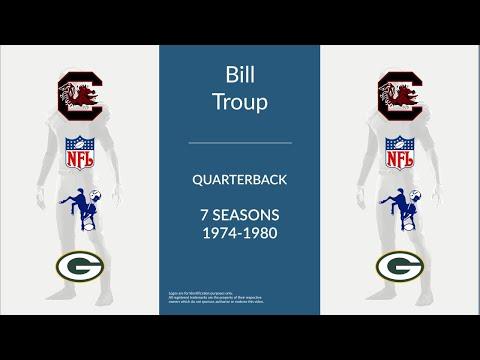 Bill Troup: Football Quarterback