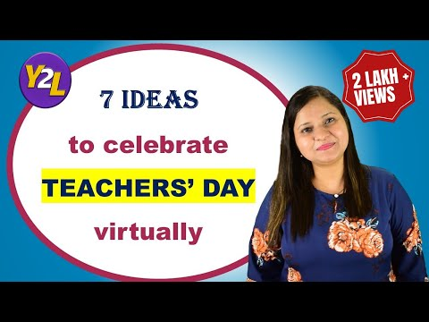 Teachers Day Celebration Ideas How To Celebrate Teachers Day Virtually 5 September Celebration Youtube