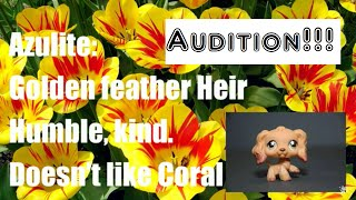 LPS: Feathers Voice Audition...Again! [Audition for Azulite]