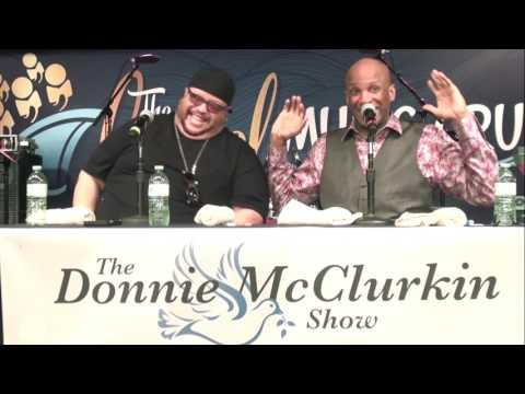 The story of Donnie throwing Fred Hammond under the bus