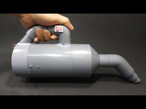 Chế Máy Hút Bụi 12v từ motor 775 và Ống Nhựa PVC - Siêu Mạnh