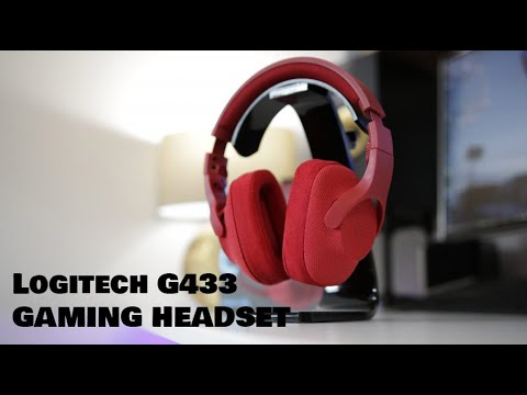 Logitech G433 All in One Gaming Headset Unboxing & Review! 7.1 Surround Sound for £109