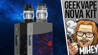 GeekVape NOVA 200W TC Kit. Красивый, но не без косяков.