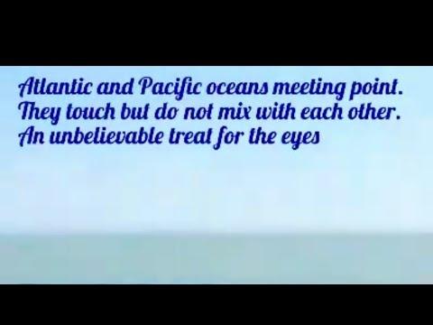 Atlantic & Pacific Ocean Meeting point