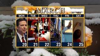 Calendar: Week of March 20