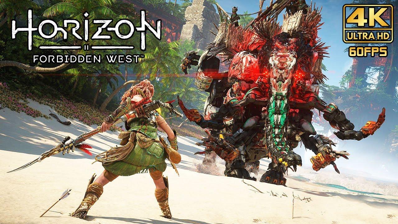 HORIZON II: Forbidden West (PS5) - 4K 60fps Gameplay Demo Walkthrough @ ᵁᴴᴰ ✔