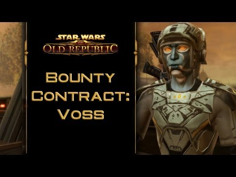 SWTOR: Bounty Contract Voss [incl. kill & capture ending]