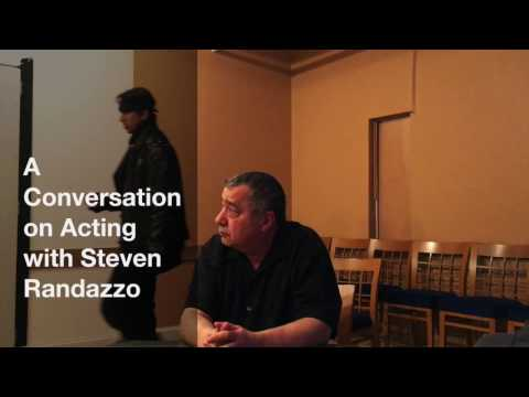 A Conversation on Acting with Steven Randazzo