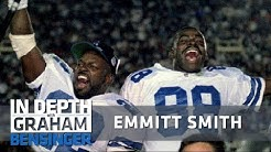 Emmitt Smith on love for Cowboys, tears as a Cardinal
