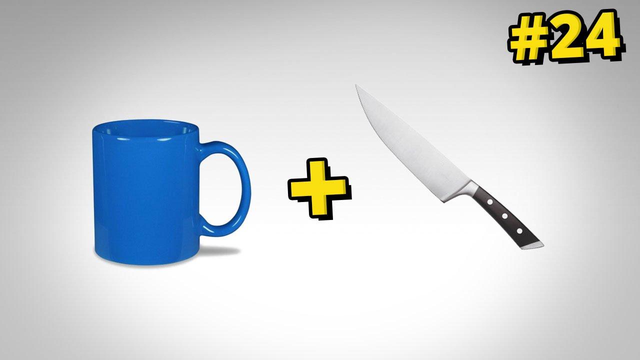 Jak ostrzyć noże za pomocą kubków