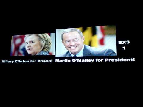 Hillary Clinton for Prison! Martin O