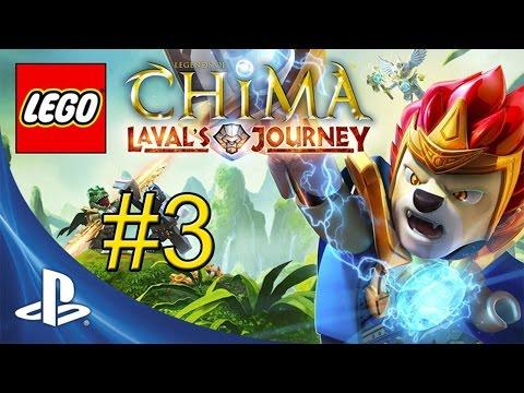 LEGO Legends of Chima Lavals Journey {PS Vita} часть 23 — Свободная Игра #11