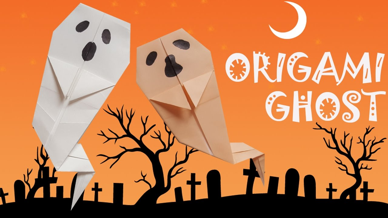 Halloween Origami for Kids - Easy Peasy and Fun | 720x1280