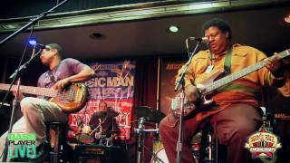 Stan Sargeant & Juan Nelson Jam at the Ernie Ball Music Man booth at Bass Player Live - Part 2