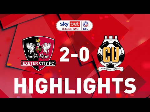 Exeter City Cambridge Utd Goals And Highlights