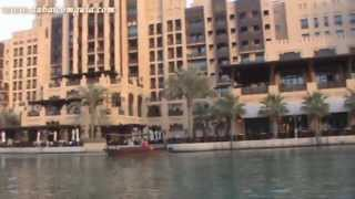Passeio no Madinat Jumeira ao lado do Burj Al Arab em Dubai