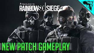 Rainbow 6 Siege Patch PC Gameplay - Patch Details, Frost Gameplay, Buck Gameplay,