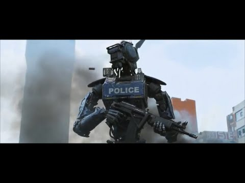 Robots Policing People | Robot Police force