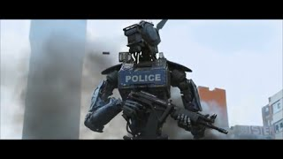Robots Policing People   Robot Police force