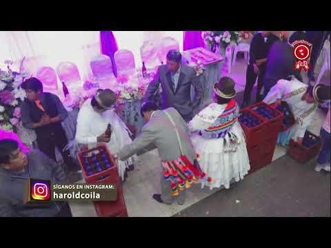 Matrimonio de orlando y olga en juliaca con el grupo sagrado