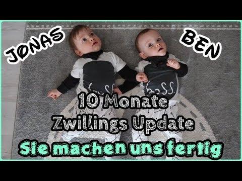 Dennis geht lieber arbeiten🤣/Einer schreit immer/10 Monate Zwillings Update/Mel´s Kanal