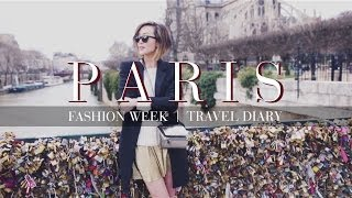 Paris Fashion Week Travel Diary Thumbnail