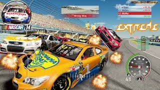 best extreme longer crashes in a circle simulator nascar 14 the game 60fps
